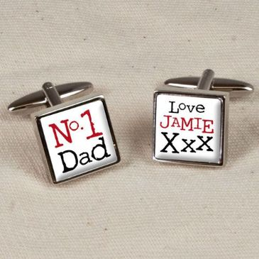 No1 Dad Cufflinks